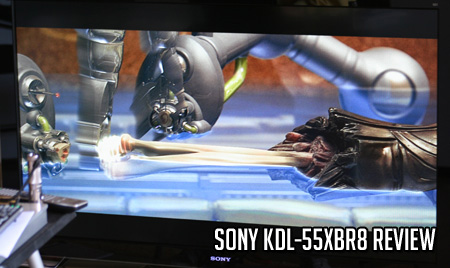 Sony KDL-55XBR8 Review