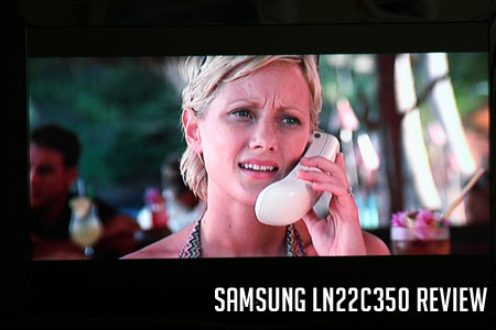 Samsung LN22C350 Review