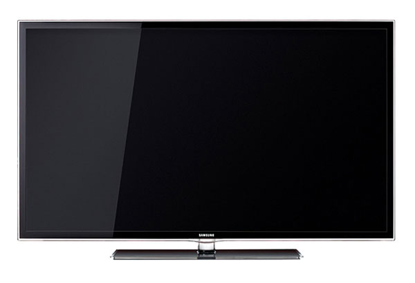A front shot of the Samsung D6000 series LED TV