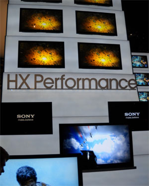 sony tv 2010. hx series: this series contains local dimming led backlighting and is the premium picture tv for sony 2010. it will be heir to xbr10 (and xbr8) tv 2010