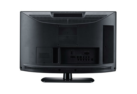 The Back of the LG LK330 series LCD TV