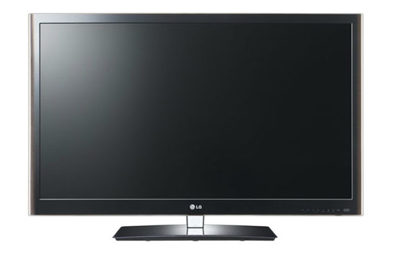 A front shot of the LG LV5500 series LED TV