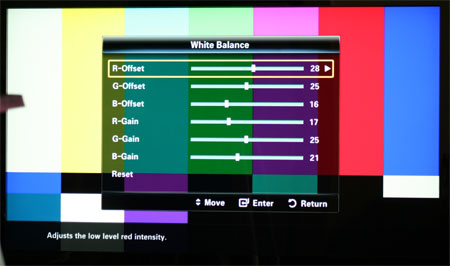 samsung ln52b750 calibration settings rh reviews lcdtvbuyingguide com Samsung Screen Setting Samsung TV Setting Men