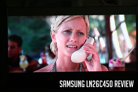 Samsung LN26C450 Review