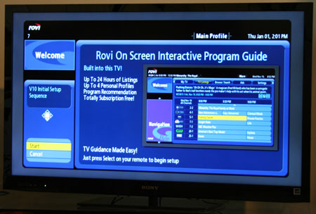 Direct Tv Internet Review >> Sony KDL-46EX620 Review; LCD LED TV Bravia, 3D Ready, - See our Video Review KDL46EX620