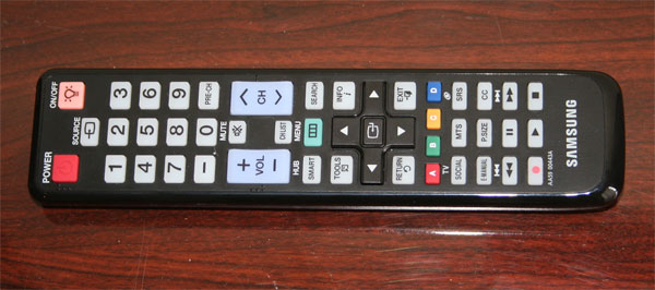 Samsung D6300 series Remote Control