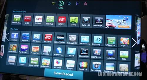 Samsung Smart Led Tv : Samsung Smart Hub Smart TV Platform 2013/2014 Samsung Smart TVs. The ...