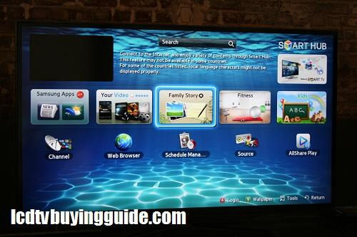 Samsung ES8000 Series 3D LED TV