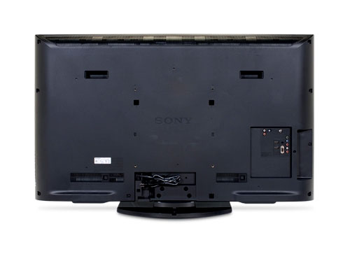 The back of the Sony BX420 Series LCD TV