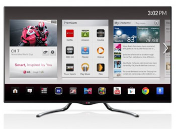 the 55 inch ga6400 is the second largest model in lgu0027s midteir google tv seires along with the extended smart tv features lg made sure the picture