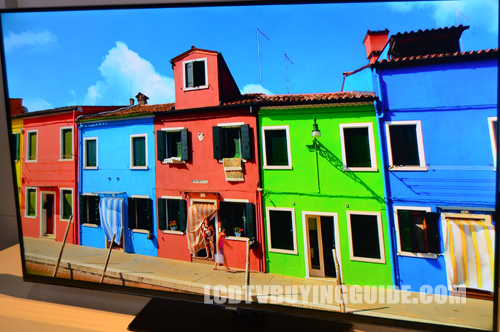 Samsung UN55H6203 LED TV Design and Appearance