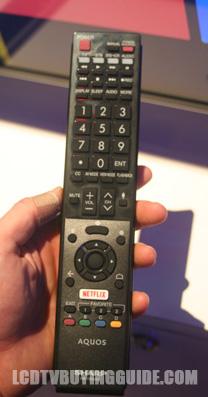 Sharp 4k Tv Remote