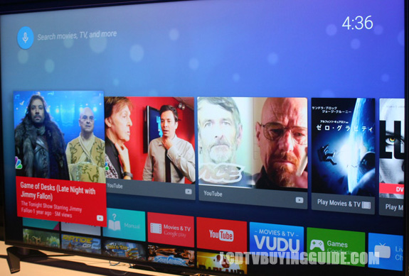 Sharp's Android TV