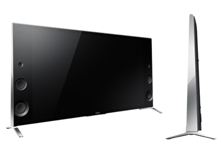 sony tv with speakers on side. sony xbr-55x900b wedge design tv with speakers on side lcd tv buying guide