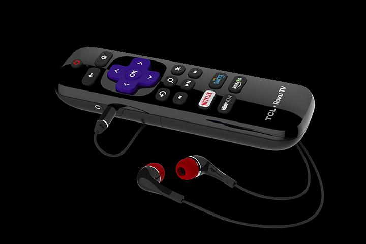 TCL P607 Roku Remote