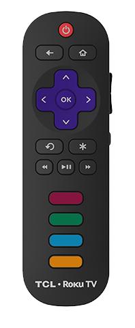 TCL S305 Roku Remote